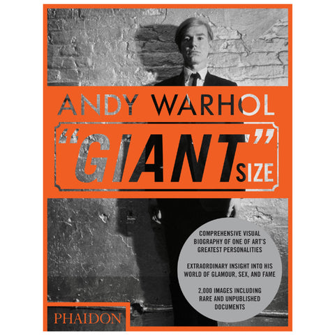 "Andy Warhol ""Giant"" Size - Phaidon Press"