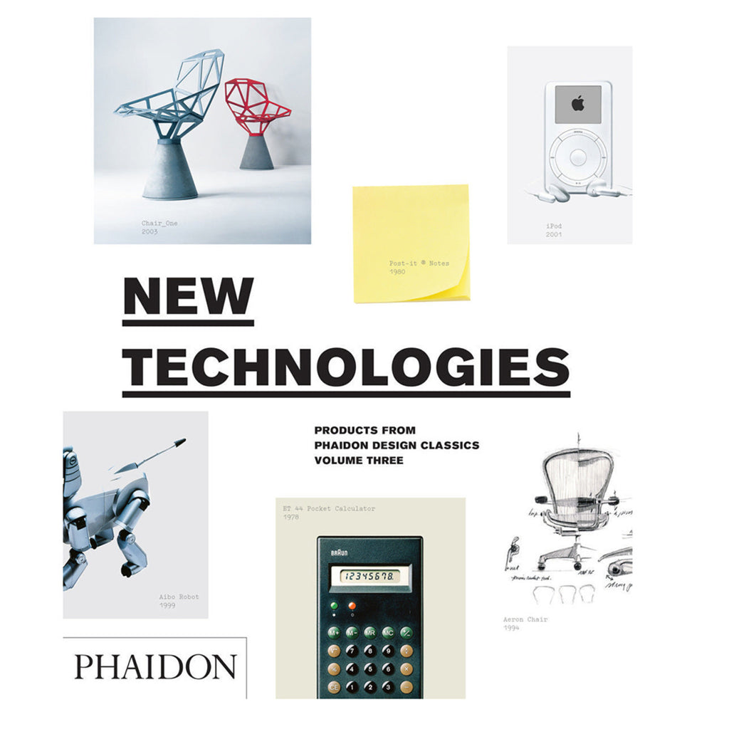Design Classics New Technologies Design Book - Phaidon Press