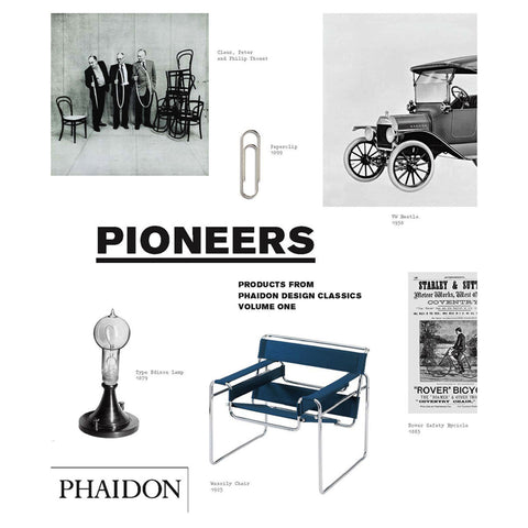 Design Classics Pioneers Design Book - Phaidon Press