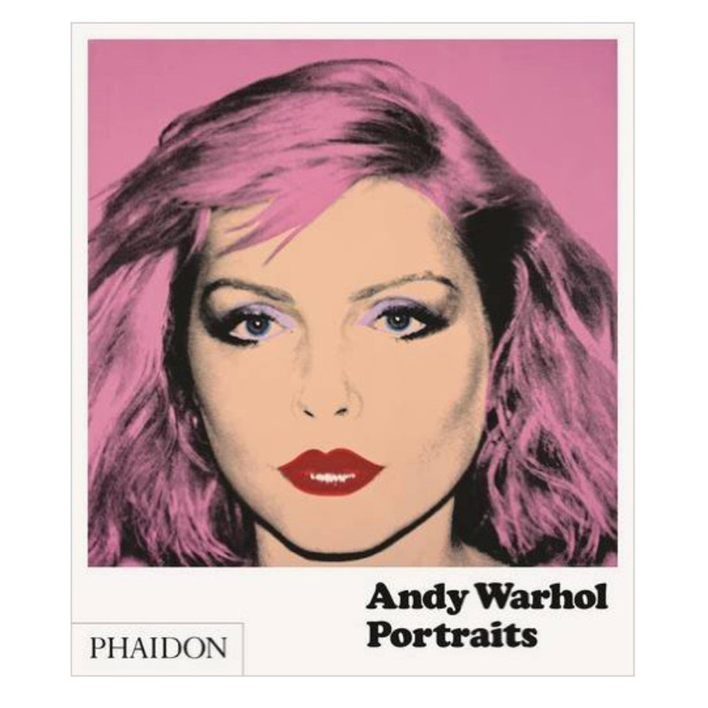 Warhol Portraits Art Book - Phaidon Press
