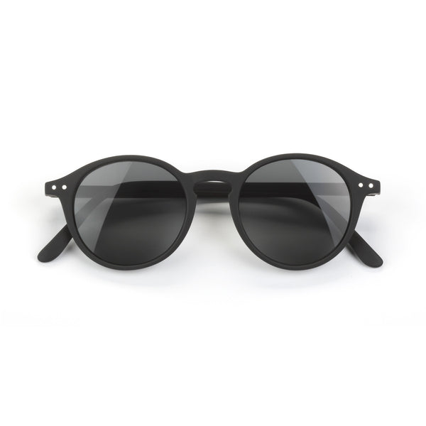'+2 Black - Sun Reading Glasses - Let Me See (Type D)