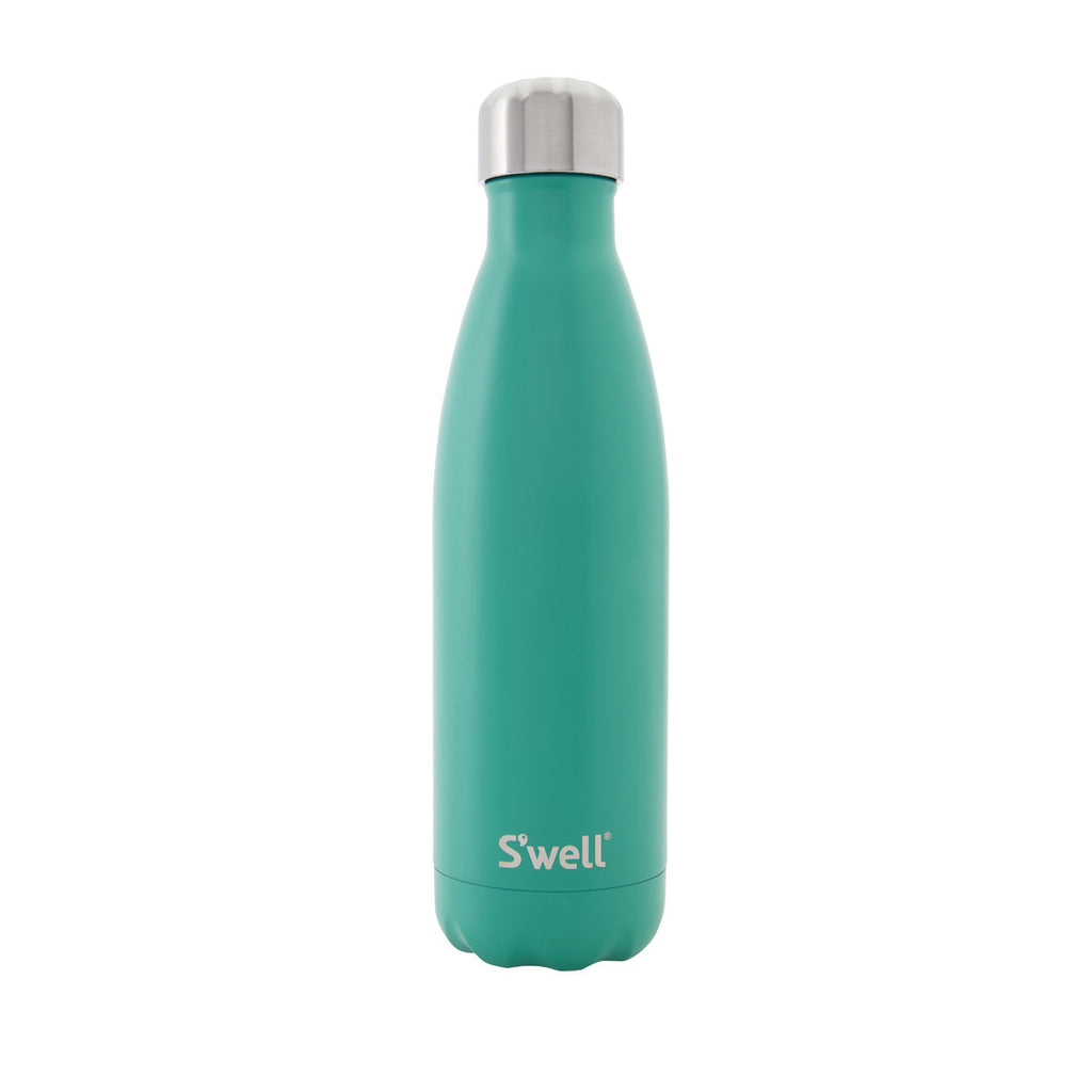 Swell Satin Stainless Steel Insulated Drink Bottle 500ml - Eucalyptus