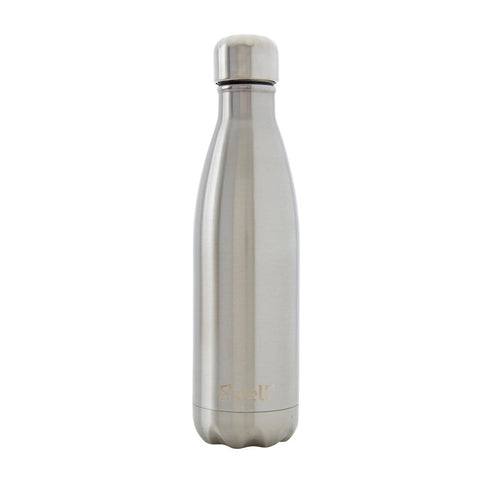 Swell Classic Silver Lining Stainless Steel Insulated Bottle - 500ml