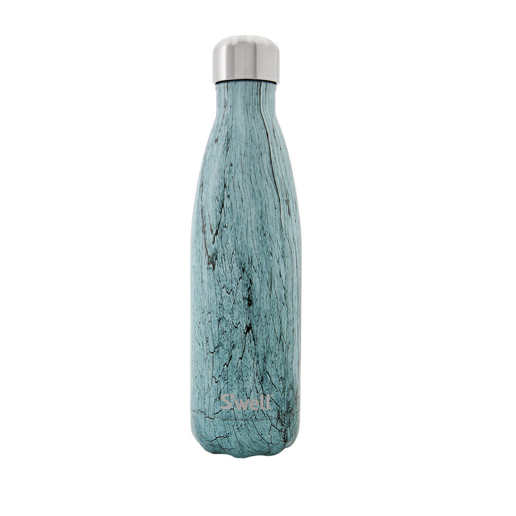 Swell Textile Stainless Steel Insulated Drink Bottle 500ml - Teal Wood