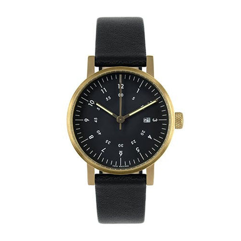 void-v03-date-watch-gold-black-dial