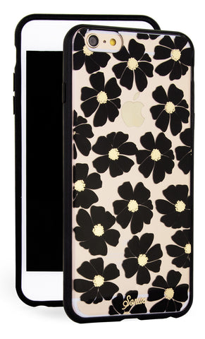 Sonix Clear Coat for iPhone 6/S Plus - Wildflower Black