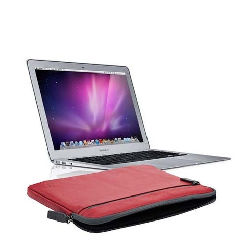 NVS Premium Leather Sleeve for MacBook Air 11
