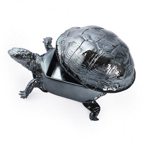 areaware-turtle-box-gun-metal-chrome
