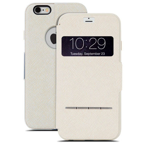 MOSHI SenseCover for iPhone 6/6s - Sahara Beige