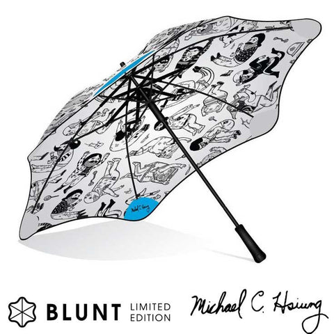 Blunt + Hsiung Limited Edition Wind/Storm Proof Umbrella