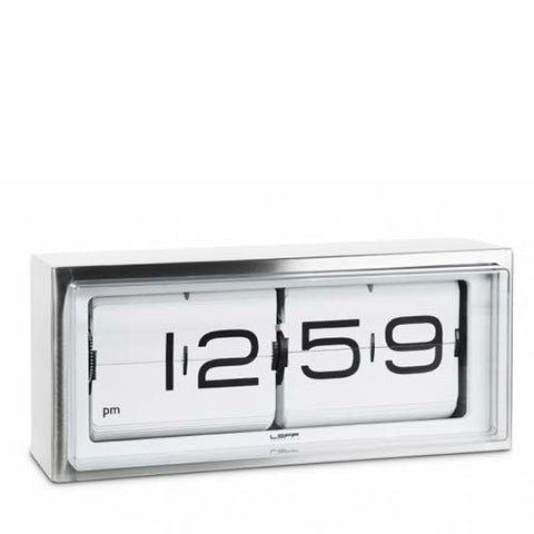 leff-brick-table-flip-clock-am-pm-white