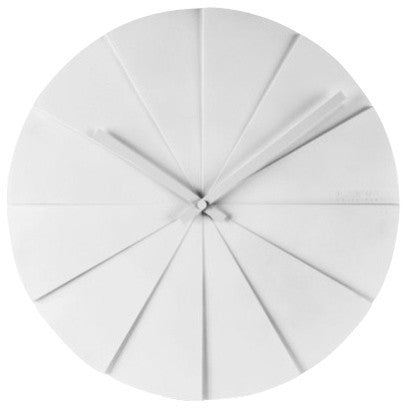 Wall Clock - Scope 45 White - Leff