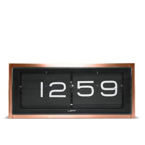 leff-copper-brick-table-clock