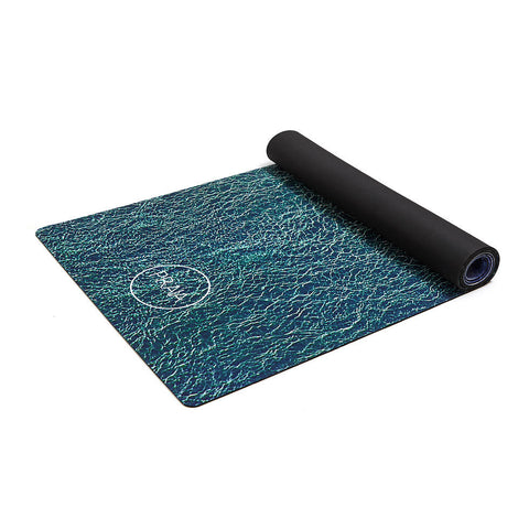 Yoga Mat - Natural Rubber - Crystal Waves Limited Edition Print