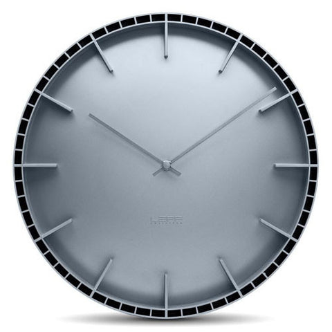 leff-dome-45-wall-clock-grey