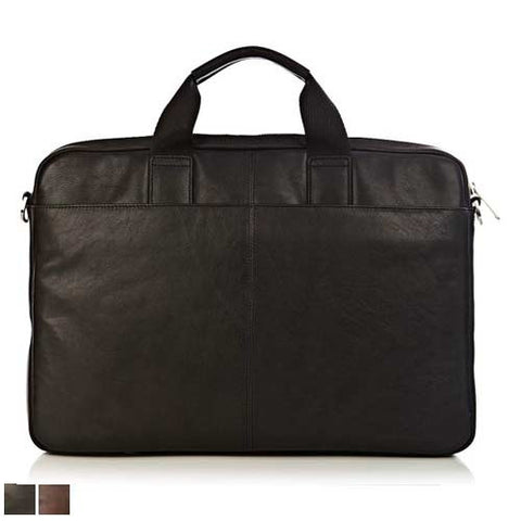 Knomo Durham Full Leather Briefcase