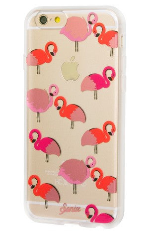 Sonix Clear Coat For iPhone 6/S - Flamingo