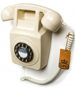 GPO 746 Wall Retro Telephone - Ivory