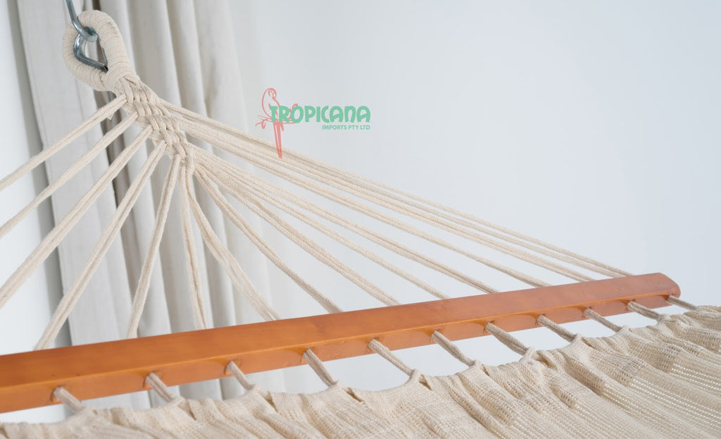 Double Hammock with Spreader Bar