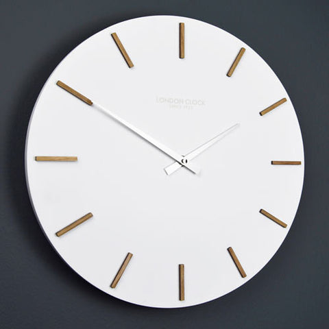 Wall Clock - Hvit - 35cm - London Clock Company