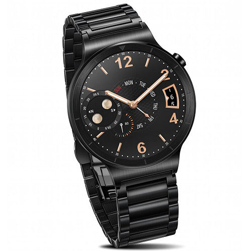 huawei-smart-watch-stainless-with-black-link-band