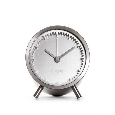 leff-tube-clock-steel