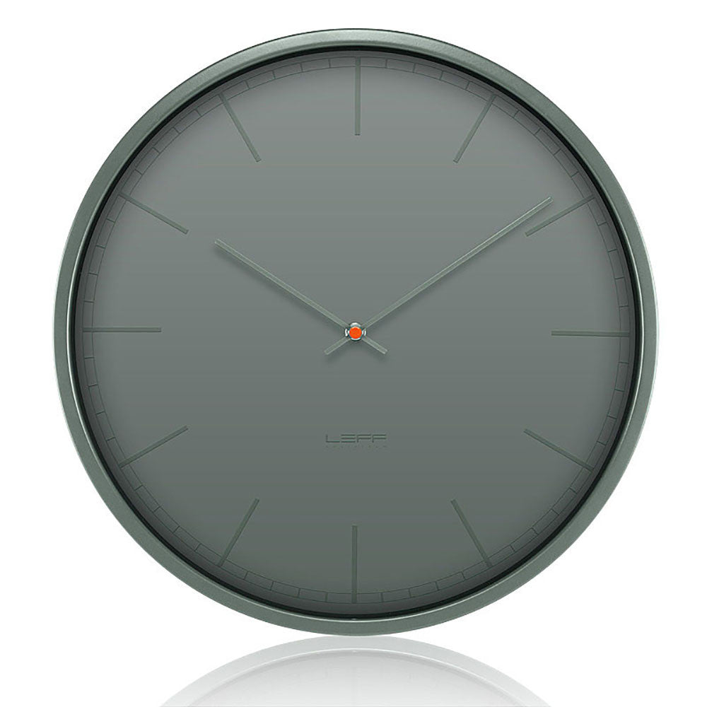 Wall Clock - Tone 35 Grey - Leff