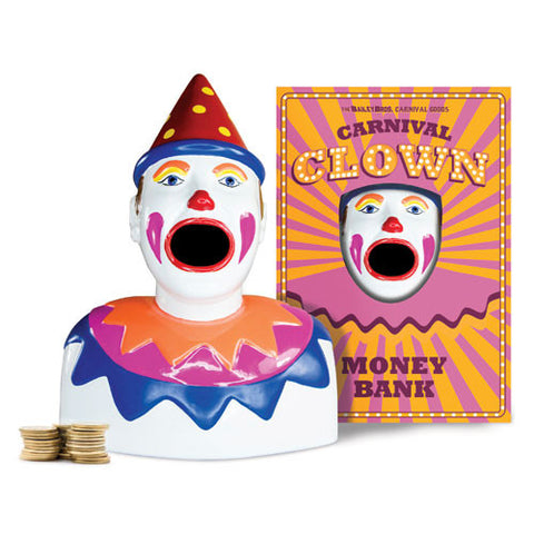 Carnival Clown Money Box