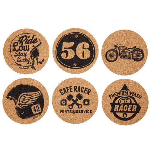 cafe-racer-cork-coasters-set-of-6