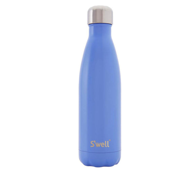 Swell Satin Stainless Steel Insulated Drink Bottle 500ml - Monaco Blue