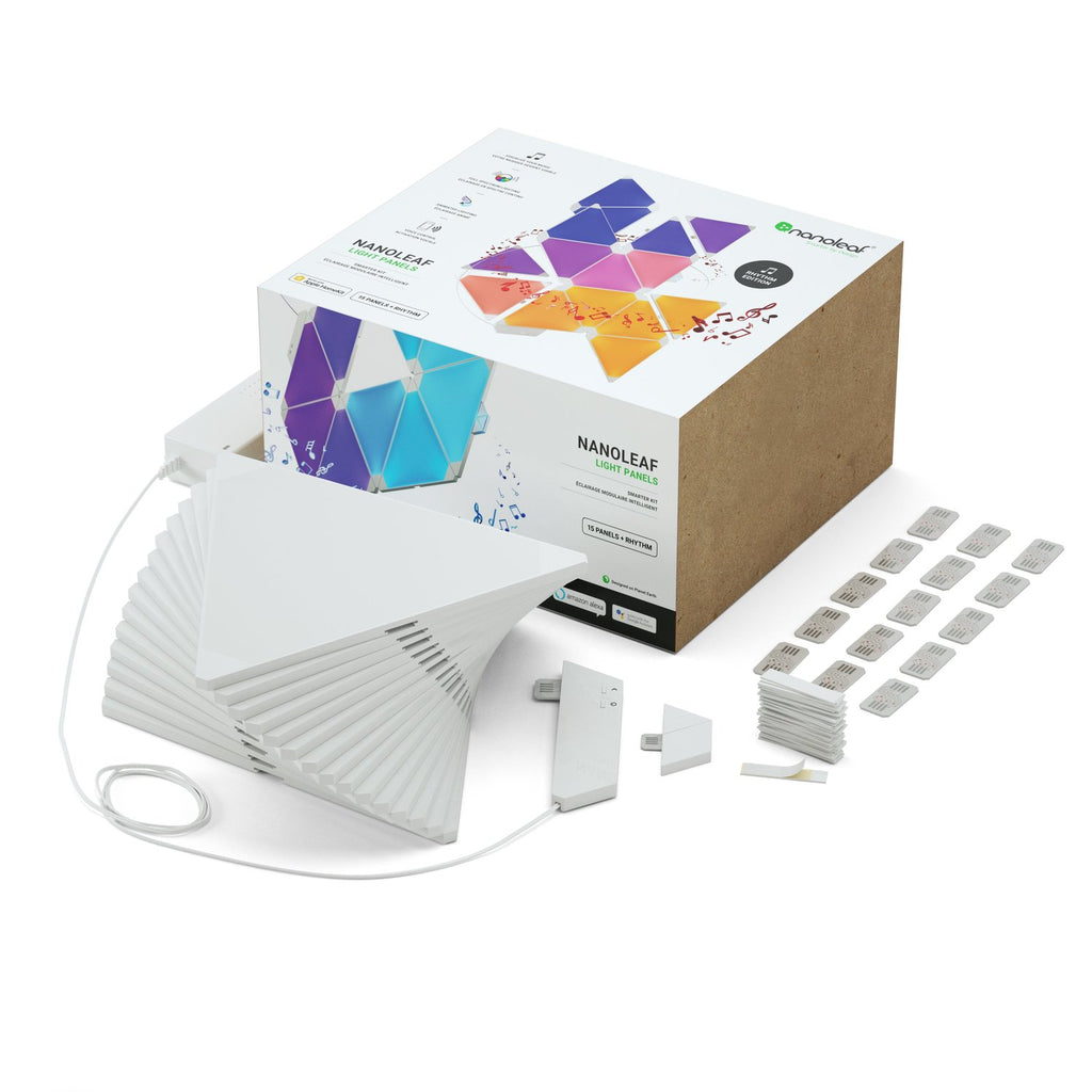 Copy of Nanoleaf Aurora Modular Lighting Rhythm Kit (15-Pack)