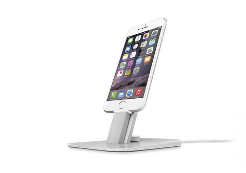 Twelve South HiRise DELUXE for iPhone 5, iPhone 6 + iPad Mini - Silver