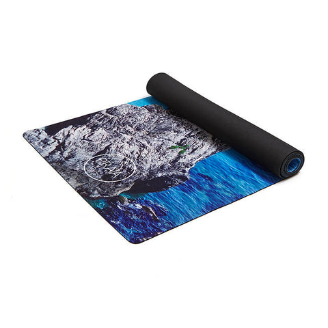 Yoga Mat - Natural Rubber - Paradise