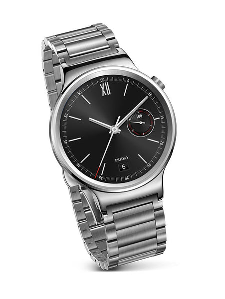 huawei-smart-watch-silver-with-stainless-steel-link-strap