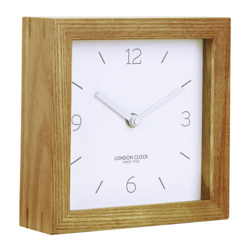 Mantel Clock - Tid Wooden 16cm - London Clock Company
