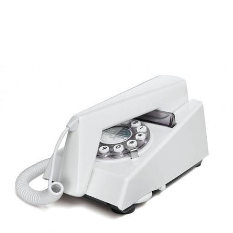 Wild and Wolf Trim Phone - White