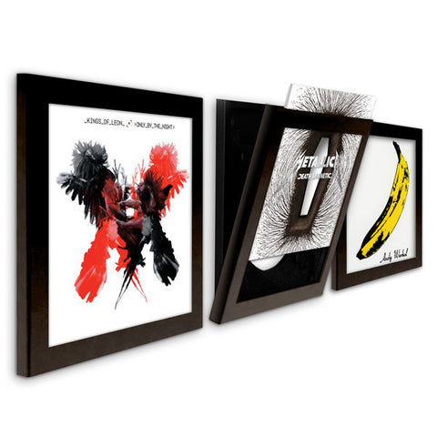Art Vinyl 3 Pack - Black