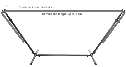Universal Steel Hammock Stand Only
