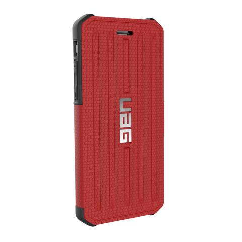 UAG Military Standard iPhone 7/6S Metropolis Folio Case - Magma