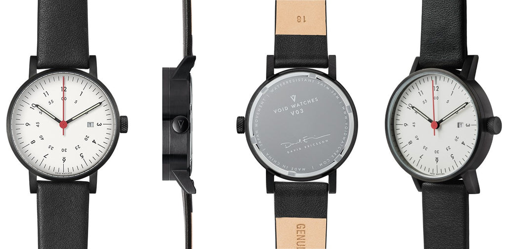 VOID V03 Date Watch - Black