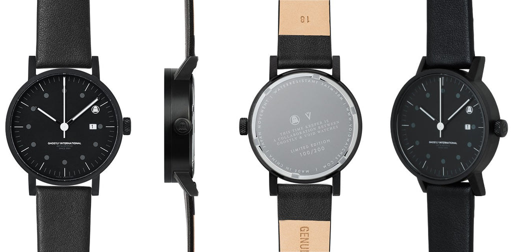 VOID V03 Date Watch - GHOSTLY