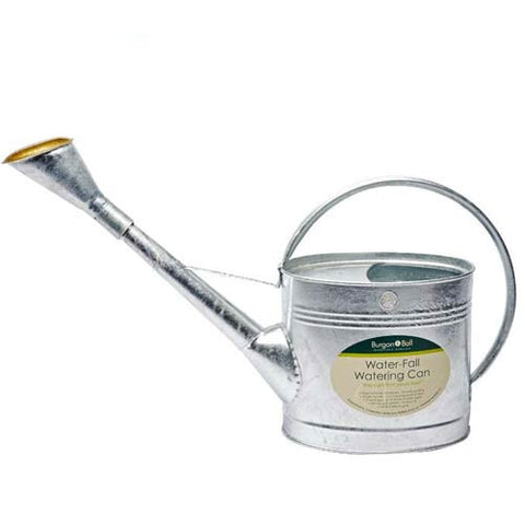 Burgon & Ball Waterfall Watering Can - Galvanised 9 liters