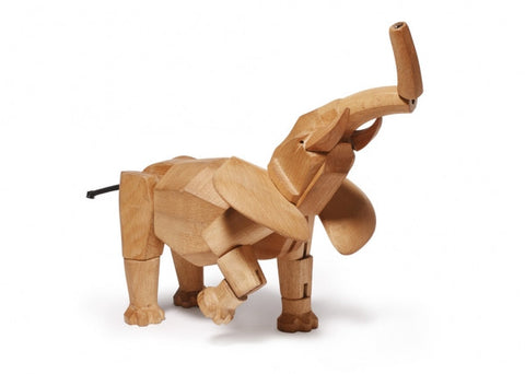 Areaware Wooden Animals - Hattie the Elephant