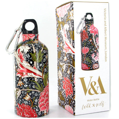 William Morris Stainless Steel 500ml Water Bottle