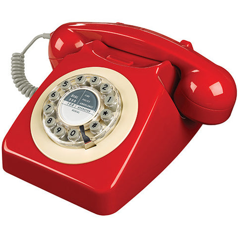 Wild and Wolf 746 Desk Telephone - Red