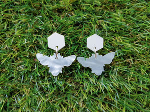 Pearl Bee Earrings