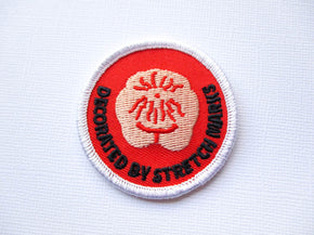 Girth Guides Decorated by Stretchmarks, Fat Activist Patch