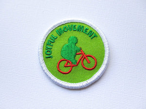 Girth Guides Joyful Movement, Fat Activist Patch