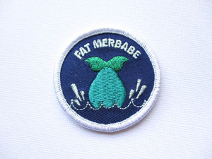 Girth Guides Fat Merbabe, Fat Activist Patch