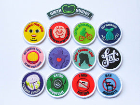 Girth Guides Fat Activist Patches